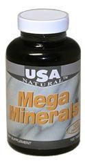 USA Natural Mega Minerals tabletta (100 db)