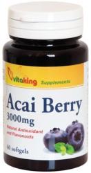 Vitaking Acai berry gélkapszula 300mg (60 db)