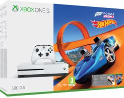 Microsoft Xbox One S (Slim) 500GB + Forza Horizon 3 + Hot Wheels