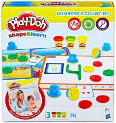 Hasbro Play-Doh: számok és számolás gyurmakészlet (B3406)