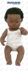 Miniland Afrikai Karakter, Fiu Baba (38 Cm)