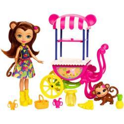 EnchanTimals Merit Monkey játékszett - EnchanTimals babák, játékok