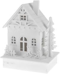 4-Home Friends dekoratív LED házikó, 16 cm