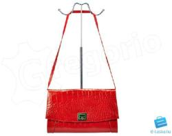 VOYAGER piros Valódi bőr , lakkbőr Valódi bőr női táska (h_372B_3_3)