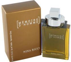 Nina Ricci Memoire D'Homme EDT 60ml