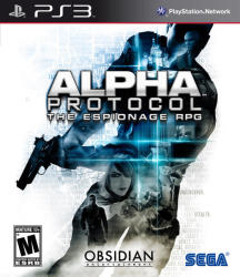 SEGA Alpha Protocol The Espionage RPG (PS3)