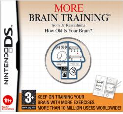 Nintendo More Brain Training from Dr Kawashima How Old is Your Brain? (Nintendo DS)