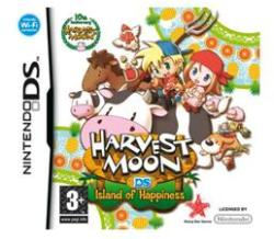 Natsume Harvest Moon Island of Happiness (Nintendo DS)