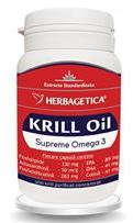 Herbagetica Supreme Krill Omega 3 Forte Herbagetica 60cps