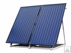 Bosch FKF3-2 - Базова конструкция за монтаж върху плосък покрив на вертикален колектор Bosch SOLAR 5000TF (87185310311)
