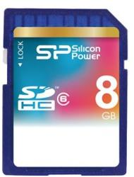 Silicon Power SDHC 8GB Class 6 SP008GBSDH006V10