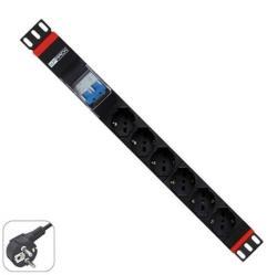 WP Rack & Cabling WPN-PDU-G02-06 6 Plug