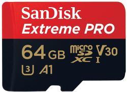 SanDisk MicroSDXC Extreme Pro 64GB Class 10 SDQXCG-064G-GN6MA