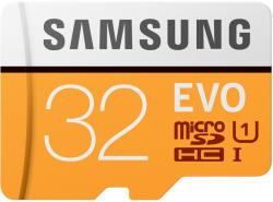 Samsung MicroSDHC Evo 32GB C10/UHS-I MB-MP32GA