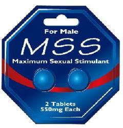 """Възбуждащи хапчета за мъже """"m s s"""" Максимум Секшуъл"""