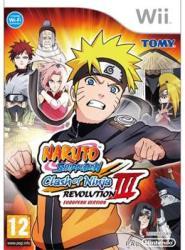 Tomy Corporation Naruto Shippuden Clash of Ninja Revolution 3 (Wii)