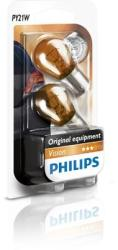 Philips Set 2 becuri Philips Vision PY21W 21W 12V 12496NAB2