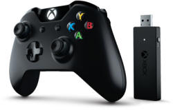 Microsoft Xbox One Controller+Wireless Adaptor for Win10 (NG6-00003)