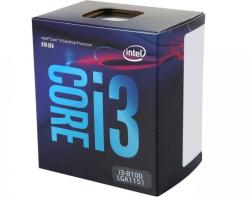 Intel Core i3-8100 Quad-Core 3.6GHz LGA1151