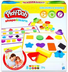 Hasbro Play-Doh: színek és formák gyurmakészlet (B3404)
