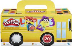 Hasbro Play-Doh: 20 tégelyes színes gyurma készlet (A7924)