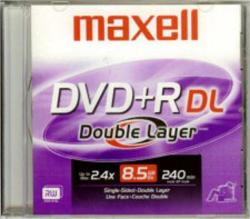Maxell Dual Layer DVD+R 8.5GB 8x