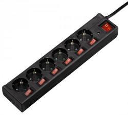 Hama 6 Plug 1,4m Switch (121946)