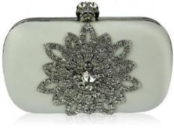 Fashion Only Alkalmi clutch táska Gabriella - fehér