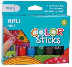 """APLI Tempera stift készlet, APLI """"Kids"""", 6 különböző szín (LCA14227) - webpapir"""