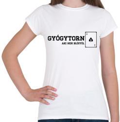 printfashion GyógytornÁSZ - Női póló - Fehér