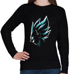 printfashion Super Saiyan Vegeta - Női pulóver - Fekete