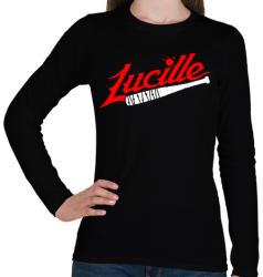 printfashion Walking Dead - Lucille - Női hosszú ujjú póló - Fekete
