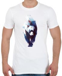 printfashion Death run - Férfi póló - Fehér