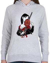 5a1fe6fcac 7 950 Ft printfashion Kínai hercegnő - Női kapucnis pulóver - Sport szürke