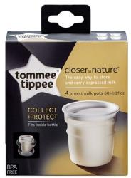 Tommee Tippee Recipiente de stocare lapte matern 4 buc