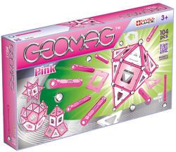 Geomag Pink rózsaszín készlet lányoknak - 104db (FO-20GMG00344)