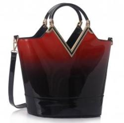 Vásárlás  Fashion Only Női lakk táska Sziszi - piros Női táska árak ... fa583c6fab