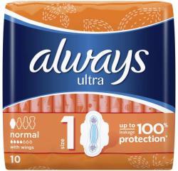 Always Absorbante ALWAYS Ultra Normal Plus 10 bucati