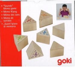 Goki Joc de memorie Sunetele (GOKI56683) - bekid