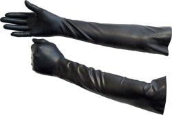 Mister B Rubber Gloves Elbow L