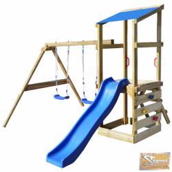 Vid fa játszótér létrával, csúszdával és hintával 290 x 260 x 235 cm
