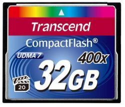 Transcend CompactFlash 32GB 400X (CF) TS32GCF400