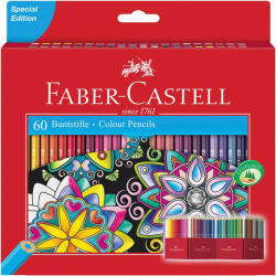 Faber-Castell Creioane colorate eco 60 buc/set FABER-CASTELL, FC111260