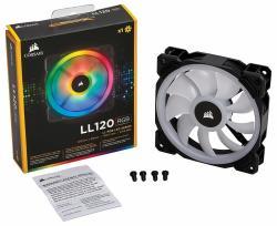 Corsair LL120 RGB LED PWM 120x120x25mm (CO-9050071/3/5/7/9)