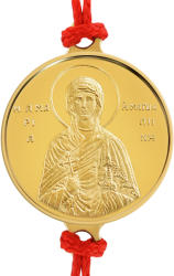 Macoins Gold Златна гривна Света Мария Магдалена