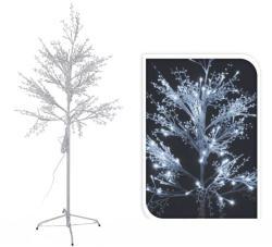 120 LEDes világító fa hidegfehér kül- és beltéri 150cm AXZ200030