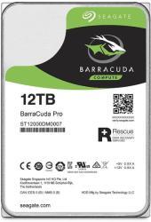 Seagate BarraCuda Pro 3.5 12TB 7200rpm 256MB SATA3 ST12000DM0007