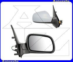 Citroen XSARA 2 2000.11-2004.12 Visszapillantó tükör jobb, 2002.01. -től, elektromos, domború tükörlappal, hőmérős, fényezhető borítással MCT147-R
