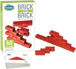 ThinkFun Brick by Brick - kreatív 3D építőjáték