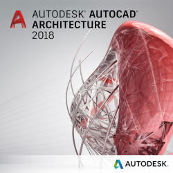 Autodesk AutoCAD Architecture 2018 Commercial, 1 an, 1 user, SPZD (185J1-WW1751-T362)